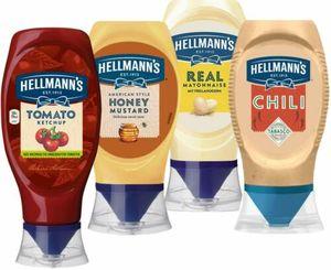 Hellmanns Mayonnaise Chili Mayo Tomaten Ketchup Ketschup Honig Senf 4er BBQ Set