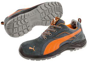 PUMA 643620 Omni Orange Low S1P 64.362 Sicherheitsschuhe Arbeitsschuhe DGUV112-191, Schuhgröße:41