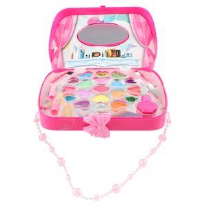Mädchen Make Up Case Kosmetik Set Pretend Play Kinder Beauty Toy