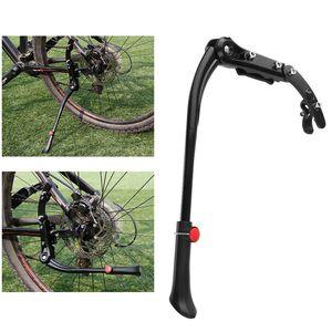 45 - 50 cm Einstellbare Aluminiumlegierung MTB Mountainbike Fahrradstaender Seitenstaender Halter