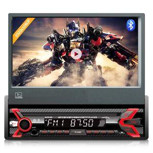 "Multimedia Autoradio LCD 7"" Bildschirm Touchscreen 1080P MP5 AVI DivX Bluetooth handsfree RDS Digitalradio Fernbedienung 1 DIN"