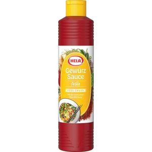Hela Asia Gewürz Sauce süss sauer mit exotischer Würze 800 ml