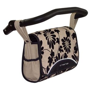 Hochwertige Wickeltasche für Kinderwagen, mit Innenfächern