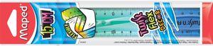 Maped Flachlineal Twist'n Flex DECOR 150 mm unzerbrechlich (1 Stück)