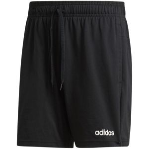 adidas Performance Herren Trainingsshort Essentials Plain Single Jersey schwarz, Größe:L