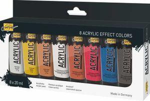 KREUL Acrylfarbe SOLO Goya Acrylic 20 ml 8er-Set