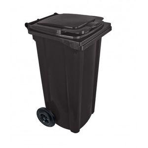 Bauer Mülltonne 120 l Schwarz