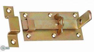 Türschloßriegel Türriegel Schubriegel 130 /60 Sicherheits-Schlossriegel gerade G