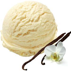 Bourbon-Vanille Geschmack Eispulver Softeispulver 1:3 - 1 kg