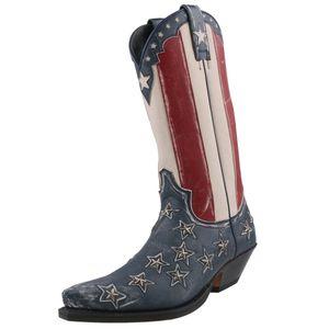 Sendra Herren Cowboystiefel 10938 Blau, Schuhgröße:EUR 45