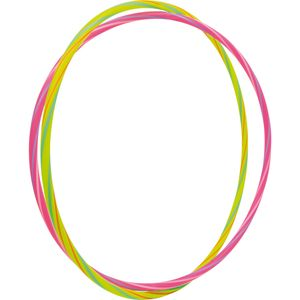 Small Foot 6854 Hula-Hoop Neon, mehrfarbig, 2-teilig (1 Set)