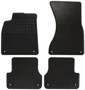 Gummifußmatten für Audi A6 C7 4G 2011-2018 Avant Kombi 5-türer 4tlg