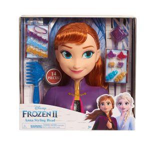 Disney Frozen 2 Basic Anna Styling Head - Spielwaren