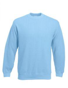 Classic Set-in Sweatshirt | Pullover - Farbe: Sky Blue - Größe: M