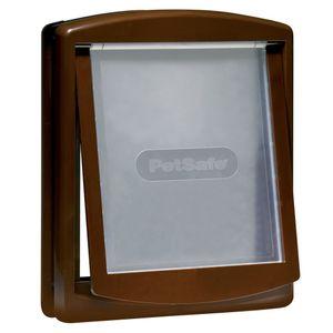 PetSafe 2-Wege-Haustierklappe 775 Groß 35,6x30,5 cm Braun 5024