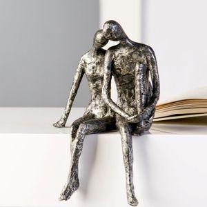Casablanca Skulptur Couple antik silber 25 cm 59657