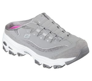 Skechers Damen Sabot D´Lites RESILIENT Grau, Schuhgröße:EUR 38