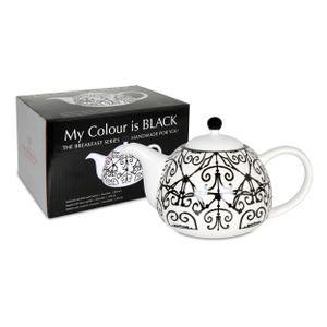 Waechtersbach My Colour Is Black Mallorquin Kanne mit Deckel und Sieb
