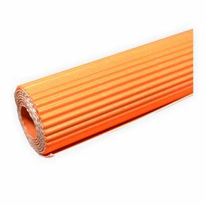 Creleo - Wellpappe gerollt 50x70 cm orange