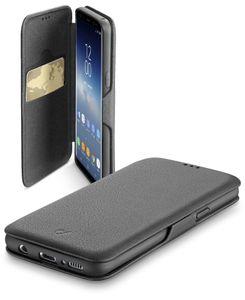 Cellularline Book Clutch, Folio, Samsung, Galaxy S9, Schwarz