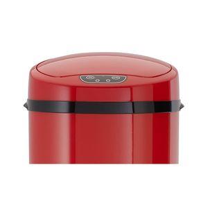 Echtwerk Ersatzteil Deckel Abfalleimer mit Sensor 9L - Rot, Farbe:Rot
