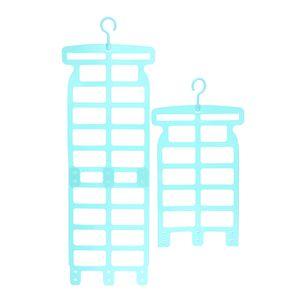 Verstellbar Hängenetz Trocknungsnetz zum Aufhängen Wäschetrockner Wäschespinne Badewanne aus Kunststoff Farbe Grün