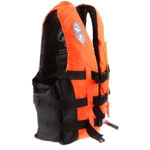 Schwimmweste Weste Überlebensanzug Zum Schwimmen Treiben M Orange