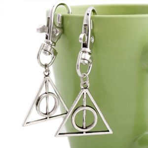 Metal Hallows Deathly Key Chain