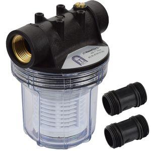 Agora-Tec Vorfilter Wasserfilter für Hauswasserwerk AT- 1L