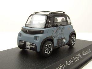 Citroen Ami 100% electric 2020 graublau My Ami Vibe Modellauto 1:43 Norev