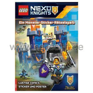 LEGO® Nexo Knights(TM) Ein Monster-Sticker-Rätselspaß