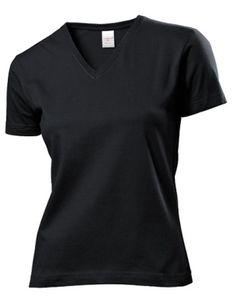 Stedman® - Classic-T V-Neck for women - Black Opal - M