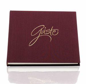 Forever-geb.Buch .HF Gäste 210x210 (96), rosso  Liefermenge: 2