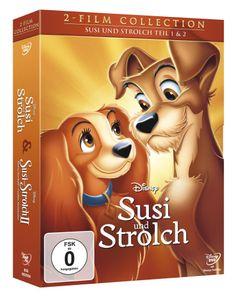 Susi und Strolch 1+2, Doppelpack DVD