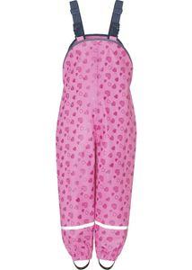 Playshoes Regenlatzhose mit Herzchen pink Mädchen 405429-18, Farbe Playshoes:pink, Größe Playshoes:98
