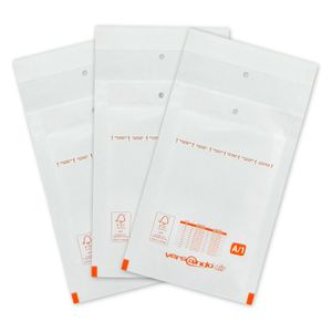 versando Luftpolstertaschen A1 120 x 175 mm 200 Stk. weiß