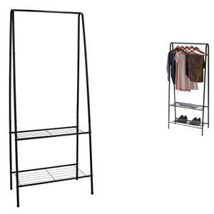 Garderobe mit Schuhregal Kleiderständer Kleiderstange Garderobenständer