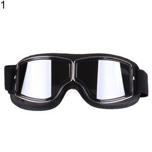 Universal Outdoor Windproof Vintage Motorradbrille Motorrad Helm Brille 1 #