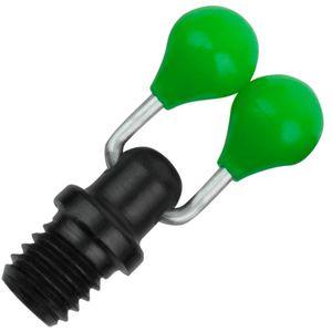 Fox Black Label Pivoting ball clip für Bissanzeiger, Farbe:Green