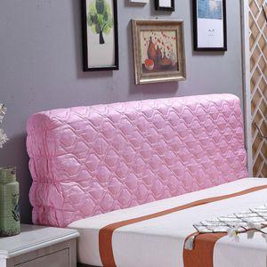 1 Stück Bett Kopfteil Abdeckung , (NUR Abdeckung, Kopfteil ist nicht enthalten) Farbe Rosa