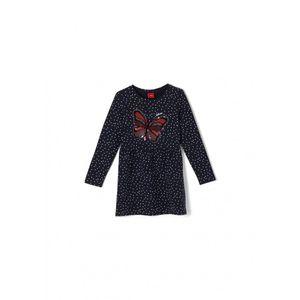 S.Oliver Mädchen Kleider in der Farbe Blau - Größe 98