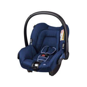 Maxi-Cosi Citi Babyschale, federleichter Baby-Autositz Gruppe 0+ (0-13 kg), nutzbar ab der Geburt bis ca. 12 Monate, River Blue (blau)