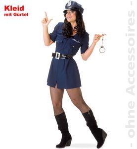 Polizistin Polizist Polizei Karneval Fasching Kostüm 34