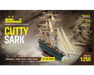 Krick Cutty Sark Bausatz 1:250 Mini Mamoli