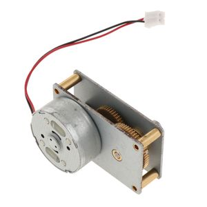 DC3 12V Metallgetriebe Geschwindigkeitsreduzierung Zone Ventilbürste DC Motor Reversibler