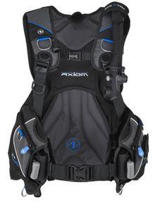 Aqualung Axiom Surelock Ii Black / Blue / Charcoal XXL