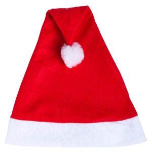 Weihnachtsmütze Bommel Weihnachtsmann Nikolausmütze Rot