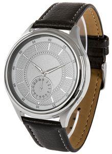 Funk-Armbanduhr mit Metallgehäuse, Datumsanzeige