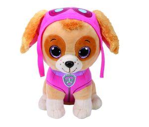 TY Beanie Boos Glubschi Paw Patrol Skye 24cm Hund Mädchen Hündin Stofftier