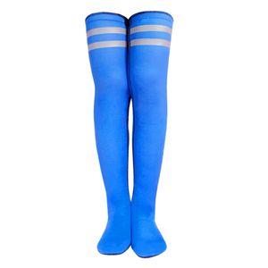 Frauen Tauch Socken Surfen Thermal Booties Long Stocking High Sock Schwarz Tauchsocken Blau M. wie beschrieben Lange Socke